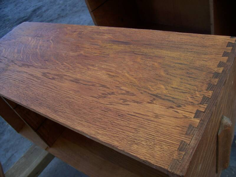 Antique Desk Restoration – Drawing the Grain